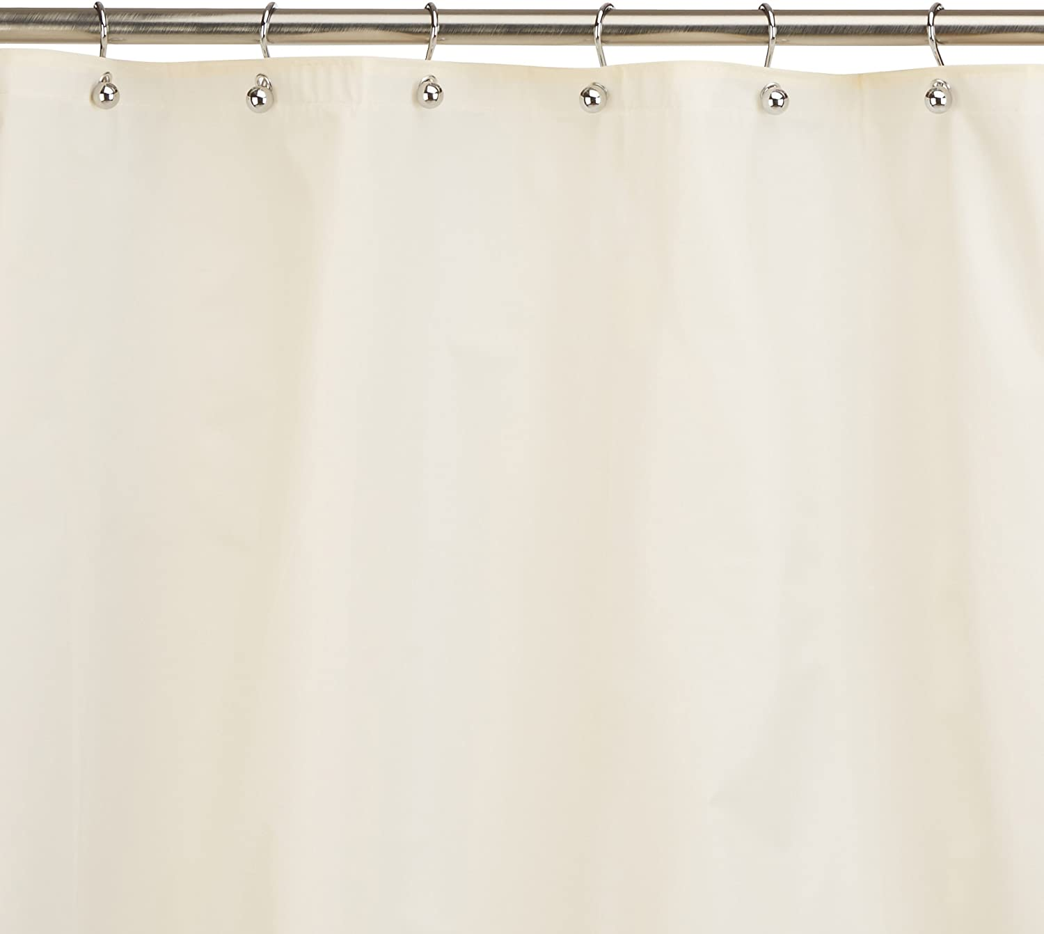 Carnation Home Fashions Jumbo Long Clean Home Liner Ivory