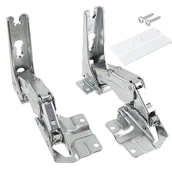 Tür Scharnier Set Von Spares2go Für Einbau Kühlschrank/ Gefrierschrank Von  Hettich (linke Und Rechte Scharniere Mit Codes: 3306 3702 3307 3703 5.0  41.5).