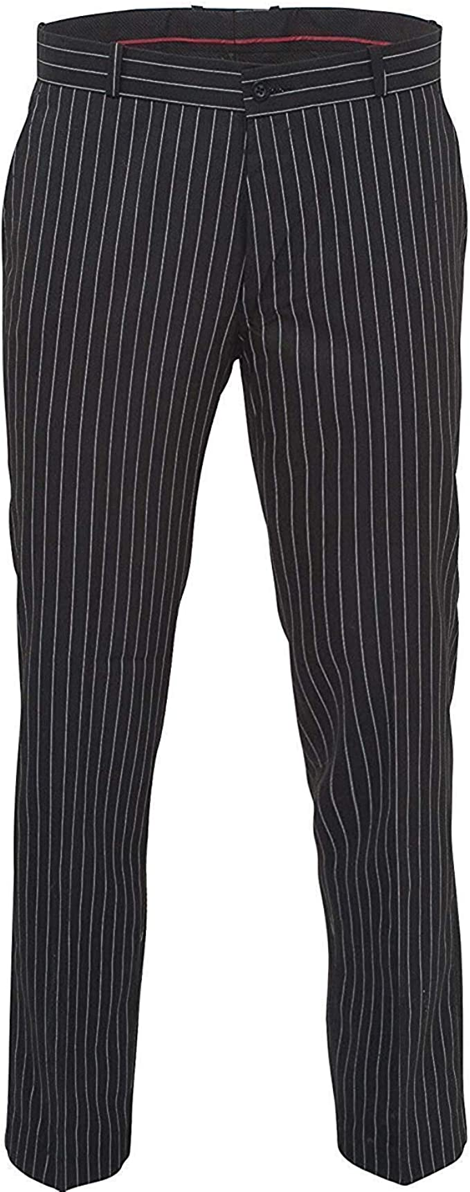60s Fancy Dress and Quality Clothing 1960s UK Relco Mens Stay Press Classic Pinstripe Trousers Sta Press Retro Mod Skin Ska £39.99 AT vintagedancer.com