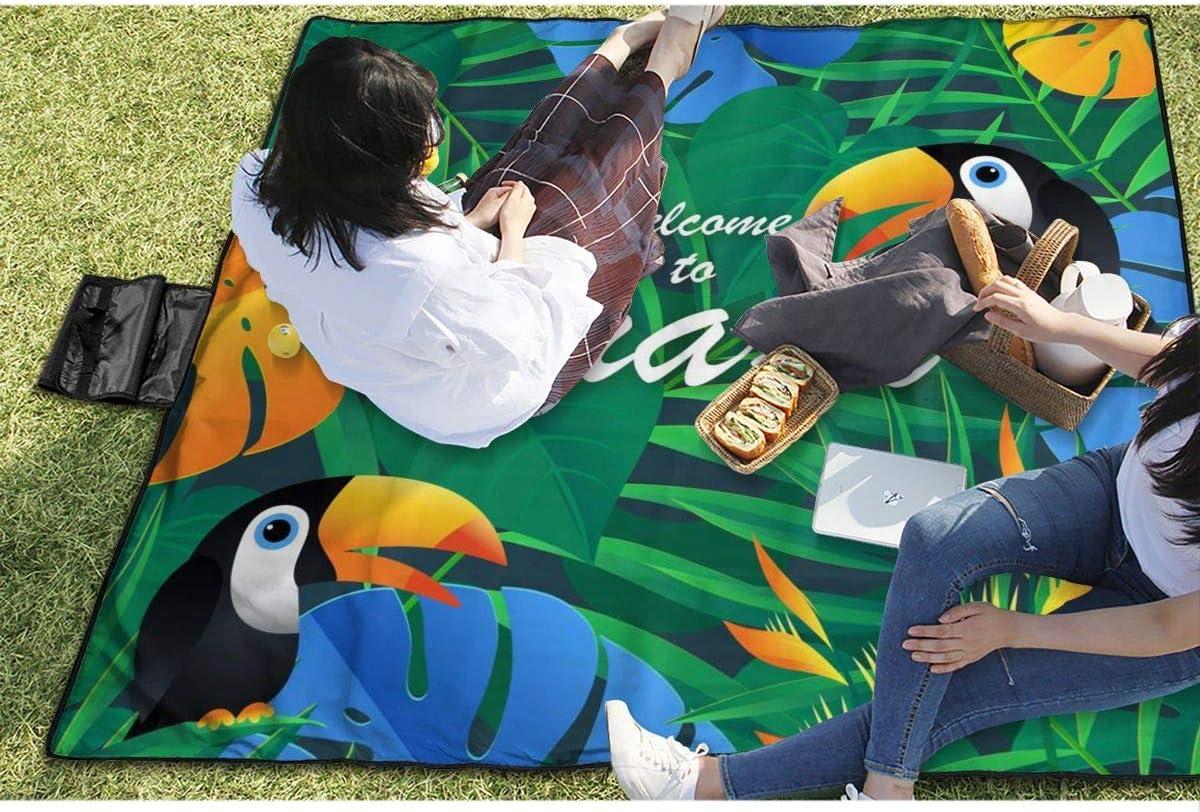 Gonex Alfombras Playa Manta Picnic Suelo Camping Esterilla Anti Arena Lona Impermeable Exterior Colch/ón Cubierta para Jard/ín Parque Piscina Acampada Viaje al Aire Libre Negro: 200 x 140 CM