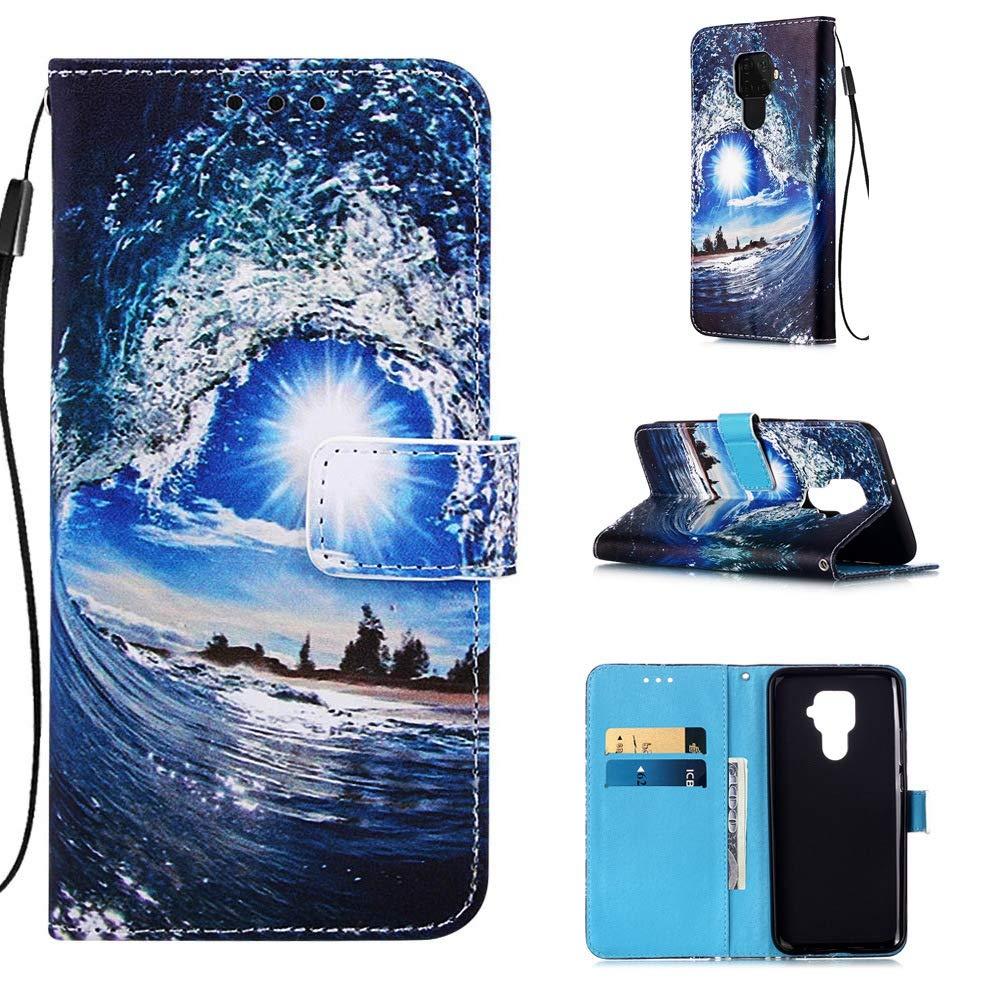 Tosim Huawei nova 5 Brieftasche Handyh/ülle Klapph/ülle mit Kartenhalter Stossfest Lederh/ülle f/ür Huawei nova 5 TOYBO440459 T9 nova5 Pro H/ülle Klappbar Leder