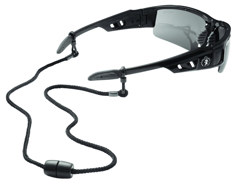 Ergodyne Skullerz 3251 Rope Slip Fit EyeWear Lanyard, Black