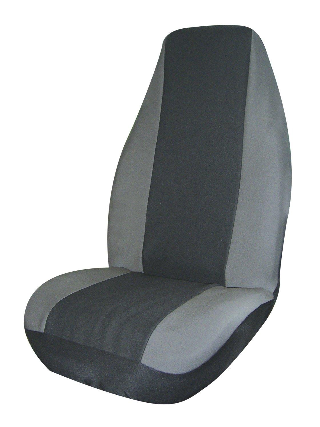 Allison 67-8736GRY Gray Neoprene Universal Bucket Seat Cover Pack of 1
