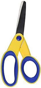School Smart Lefty Blunt Tip Kids Scissor, 5 Inches
