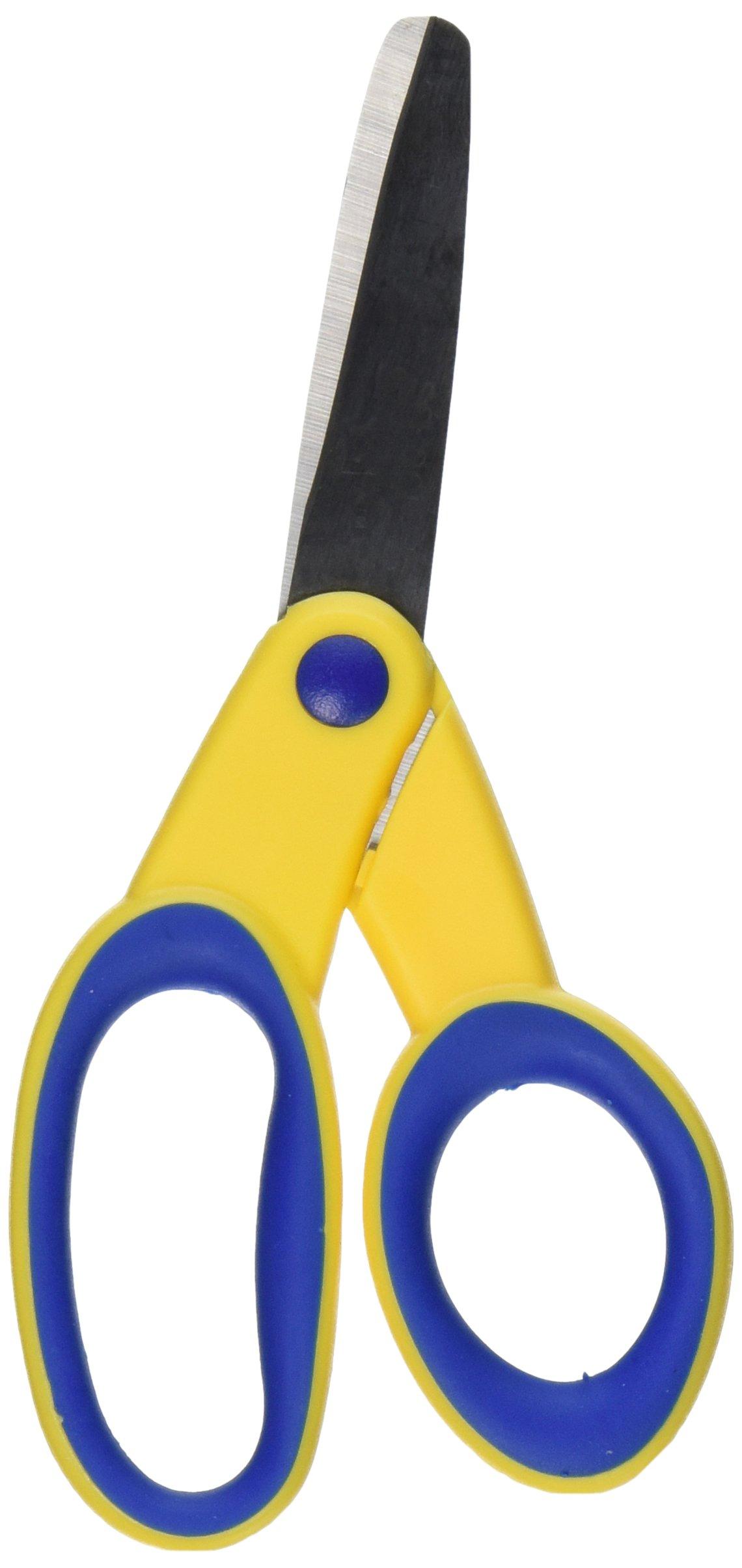 School Smart 86334 Kids Scissors - 5 inch Blunt - Lefty