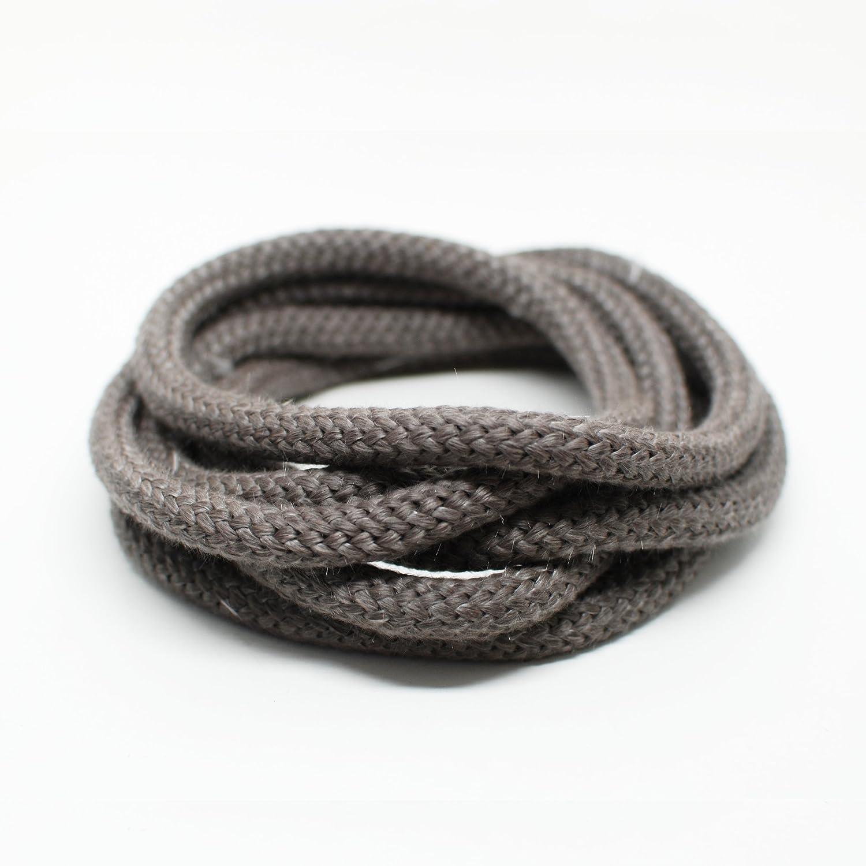 Chimenea Junta para puertas No adhesiva Junta de cordón compatible con Justus, koppe, olsberg, Oranier y Wodtke Chimenea 3m, diámetro de 10mm