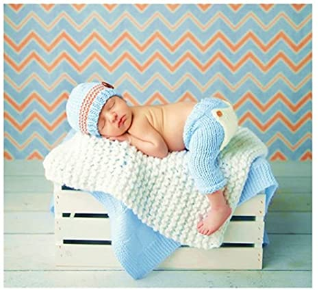 Hecho a mano bebé recién nacido bebé niña niño ganchillo gorro ...