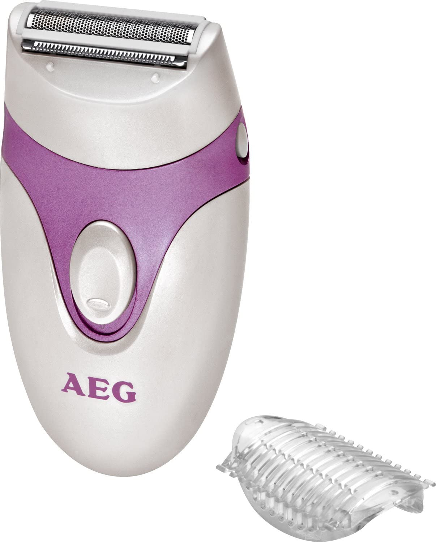 AEG LS 5652 - Afeitadora feminina, color lila: AEG: Amazon.es ...