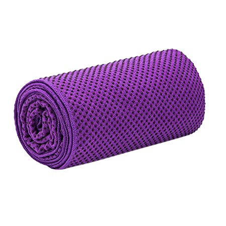 Uzanesx Toalla Yoga Antideslizante Resistente a Sudor de PVC ...