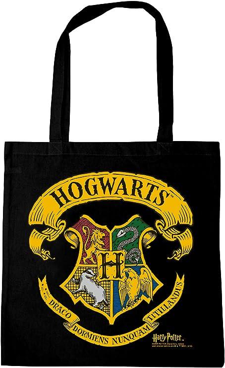 Harry Potter Hogwarts LOGOSHIRT Logo Borse riutilizzabili per la spesa design originale concesso su licenza