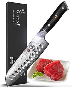 Oxford Chef high-quality and advanced Santoku knife
