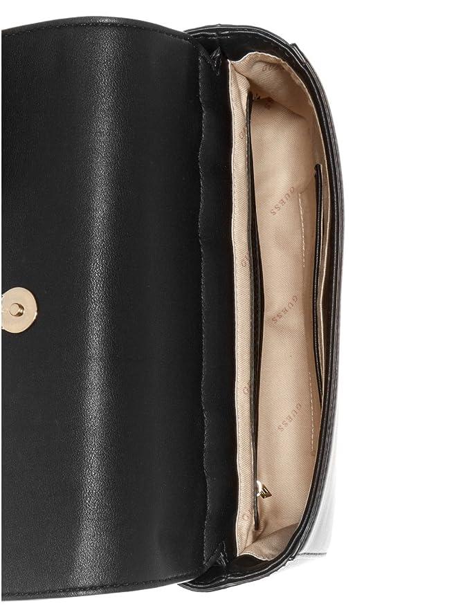 abaf84e17ffb Amazon.com  Guess Tori Ladies Small PU Leather Shoulder Bag VG685618BLA   Watches