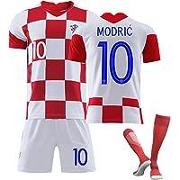 SUSIE Camiseta de Manga Corta para Hombre, Traje Deportivo, Traje de Entrenamiento de fútbol, Camiseta la Copa Mundial…