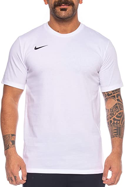 Nike Team Club Blend Chemise Homme BlancNoir FR : XL
