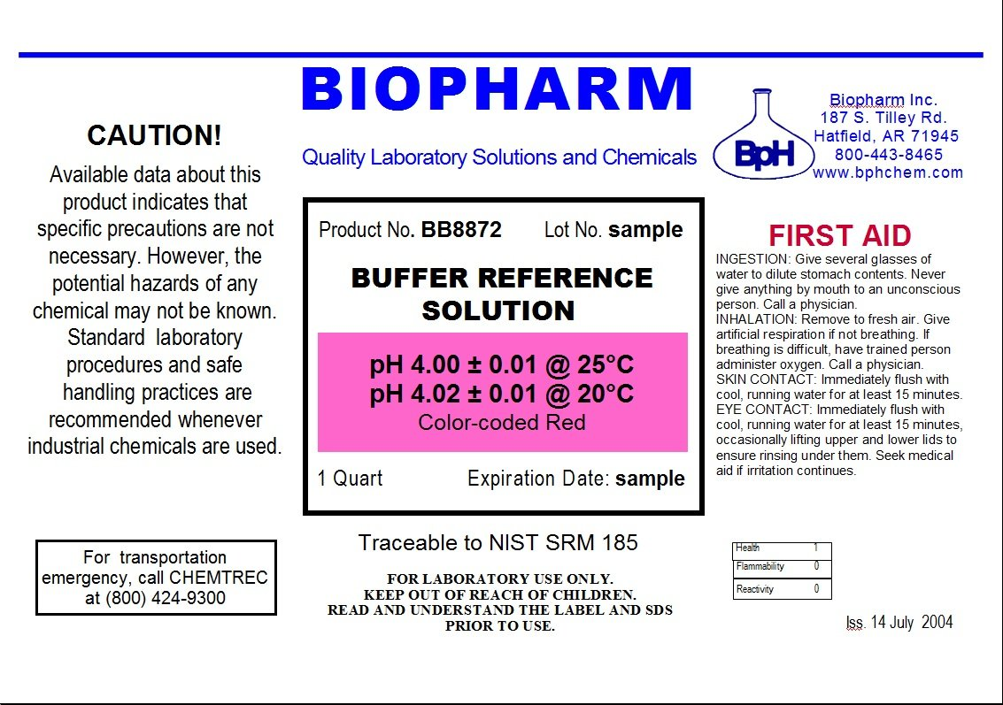 Biopharm pH Calibration Solution 2-Pack Quart (1 L) Bottles pH 4 and pH 7 Buffer NIST Traceable Reference Standards for All pH Meters by Biopharm (Image #2)