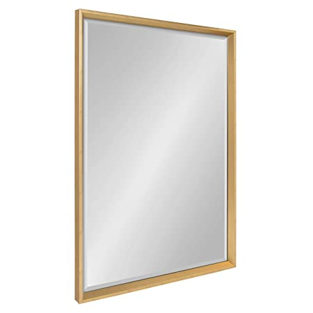 Kate and Laurel Calter Framed Wall Mirror, 25.5×37.5 Gold