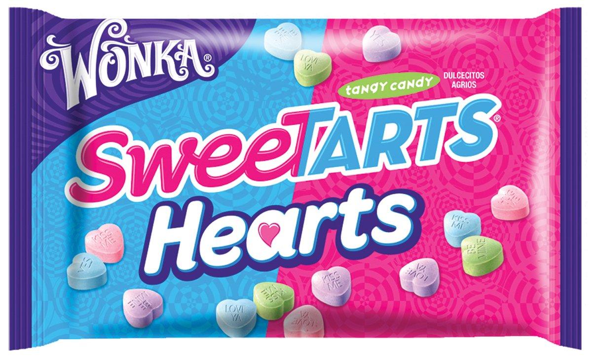 Amazon.com : Wonka Sweetarts Valentine\'s Hearts, 14-Ounce Bags (Pack ...