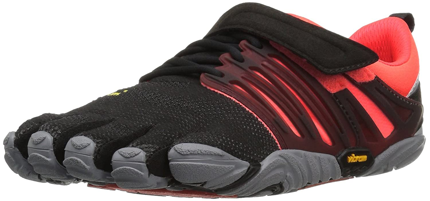 Vibram Women's V-Train Cross-Trainer Shoe B01H8PW9WQ 38 EU/6.5-7 M US|Black/Coral/Grey