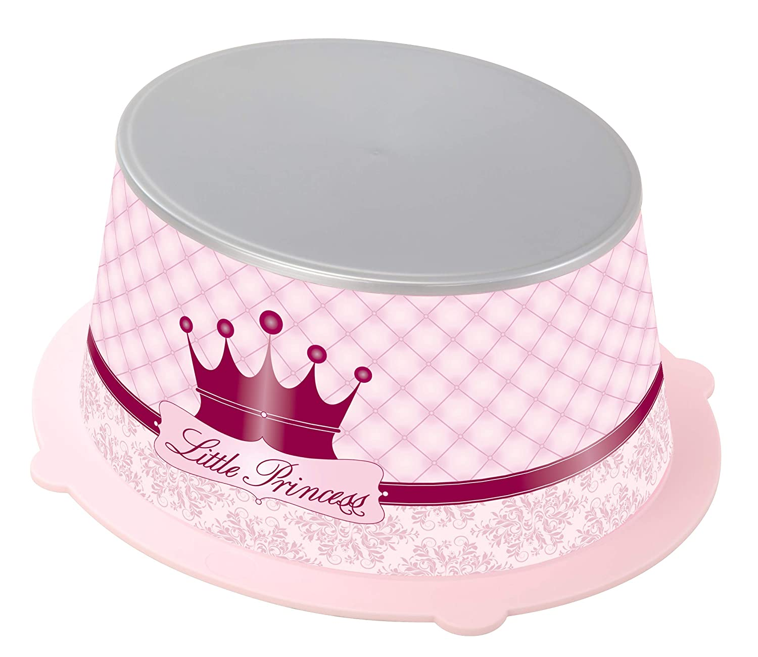 Rotho Babydesign Little Princess StyLe! Step Stool, Anti-Slip Surface, StyLe!, Pink, 202160208BG 20216 0208 BG