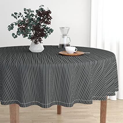 Amazon Com Roostery Round Tablecloth Nightmare Before Christmas