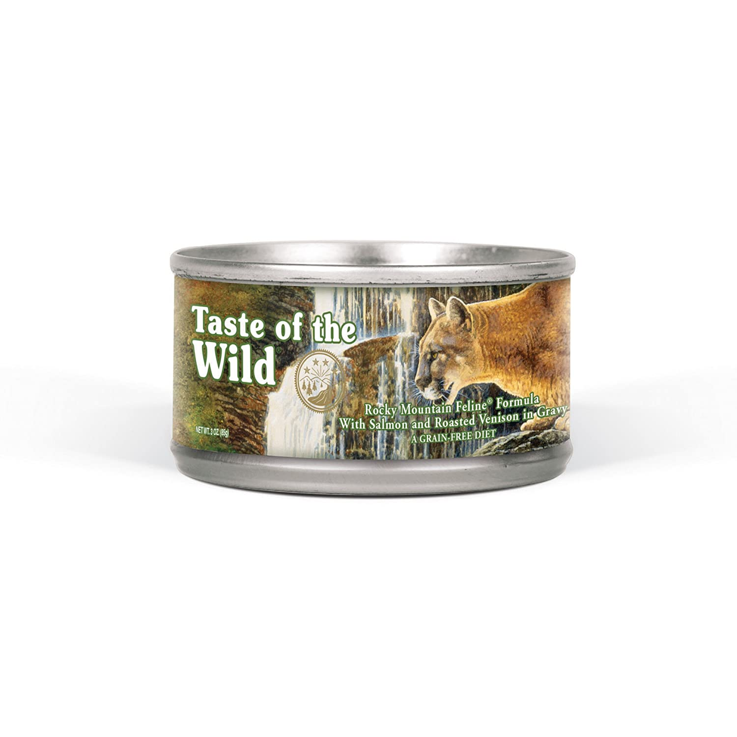 Taste of the Wild Grain Free Real Meat Recipe Premium Wet Canned Cat Food