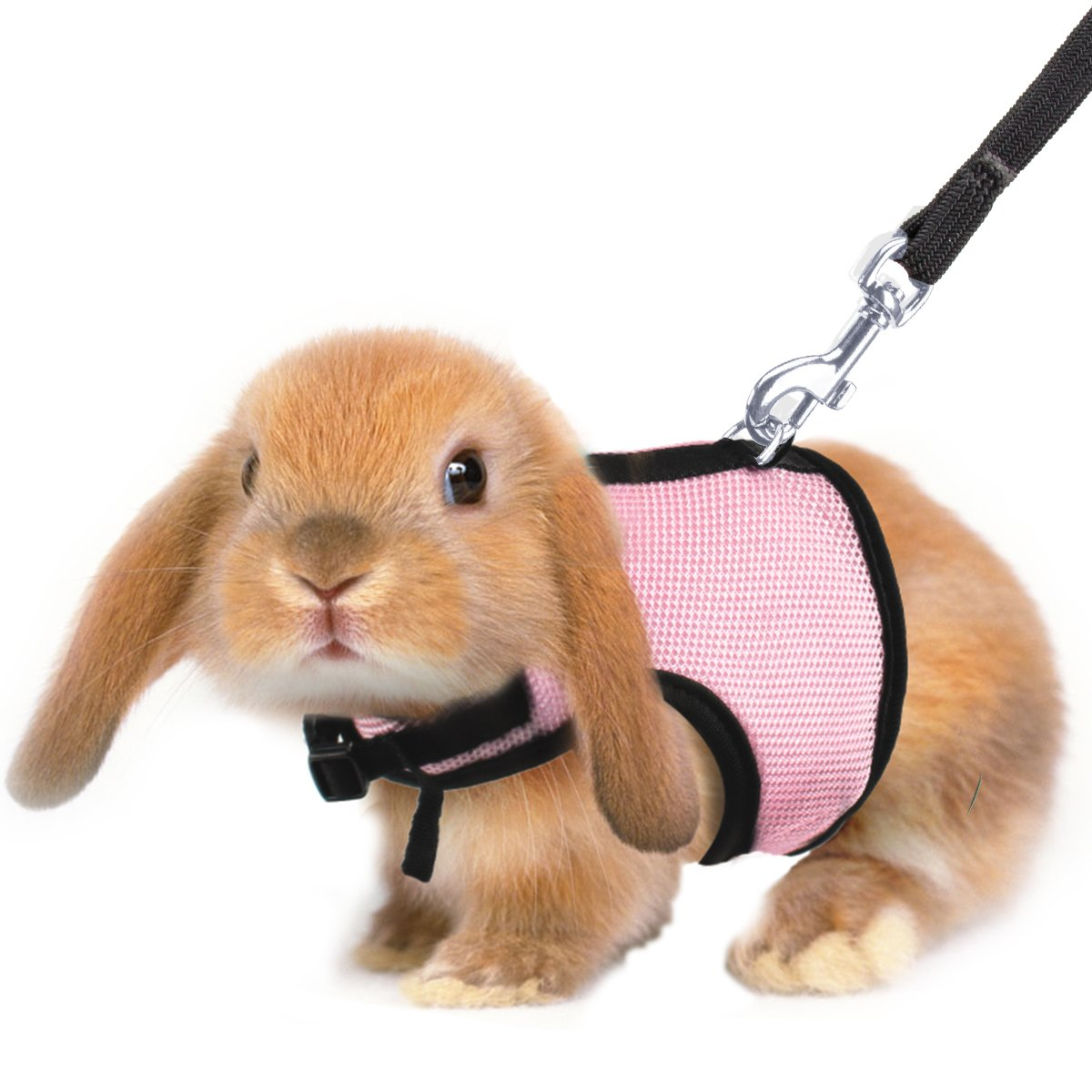 MEWTOGO 2 pcs Adjustable and Breathable Bunny Harness with M and L Size