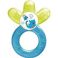 MAM Cooler New, bijtring voor baby's bevordert motoriek en visuele ontwikkeling, verkoelend bijtspeelgoed bereikt ook…