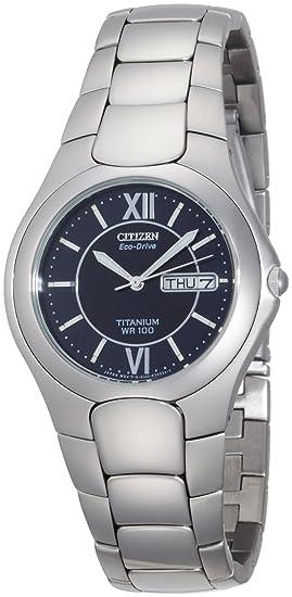 Citizen BM8120-56E - Reloj para hombres, correa de titanio: Amazon.es: Relojes