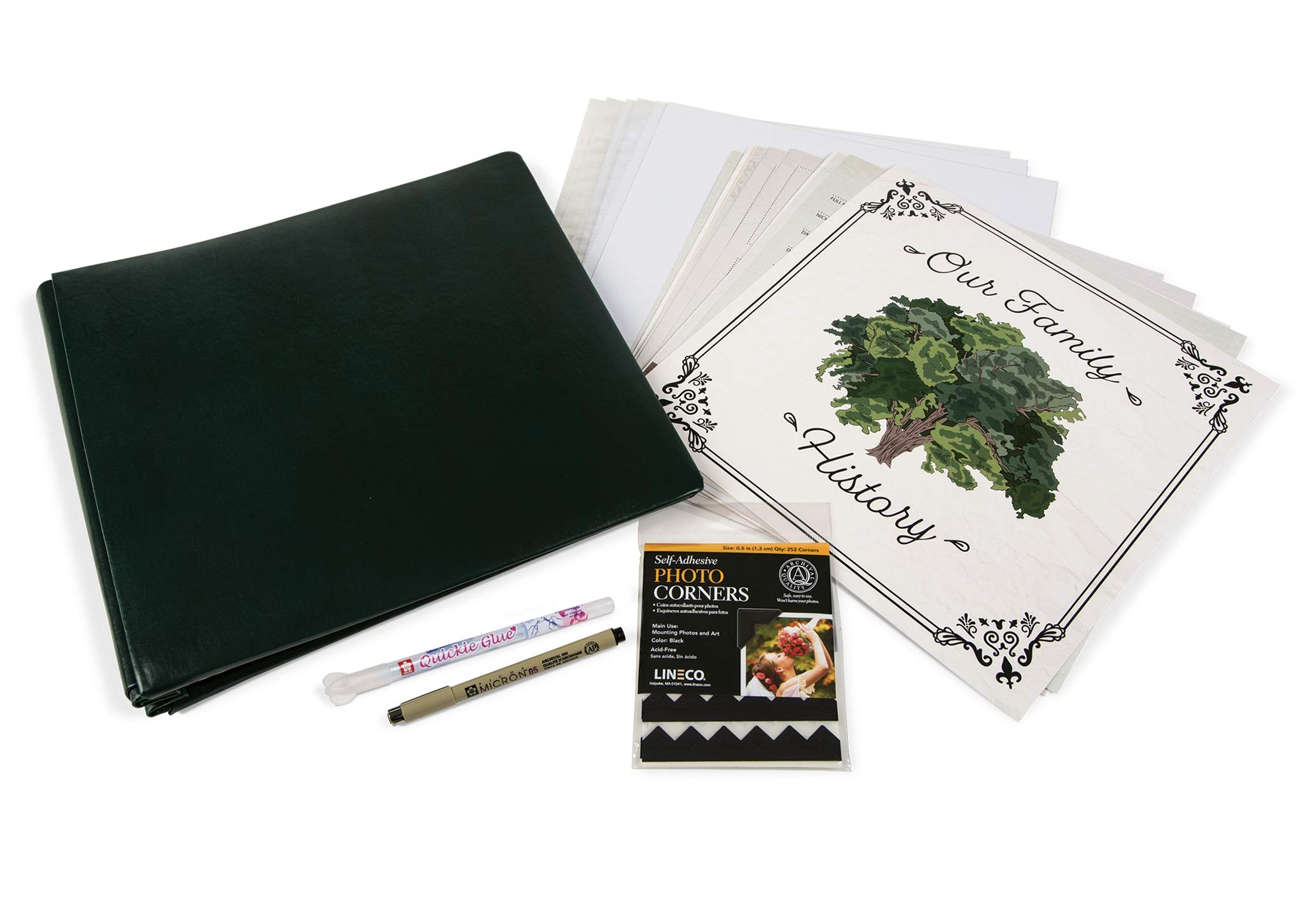 Gaylord Archival Our Family History Genealogy Scrapbook Kit