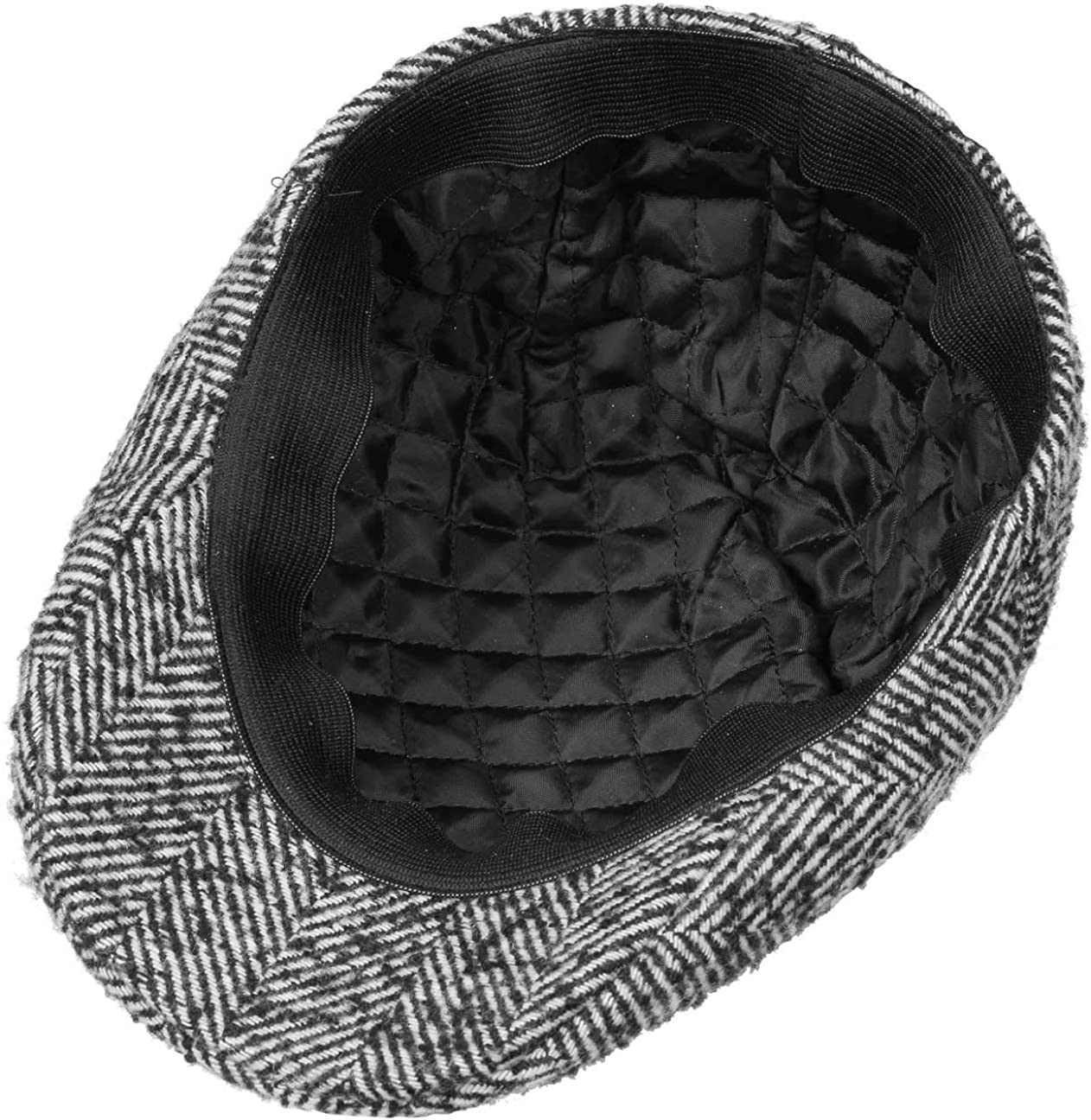Lipodo Giovanni Flatcap Schirmm/ütze Schieberm/ütze Wintercap Herren mit Schirm Herbst-Winter