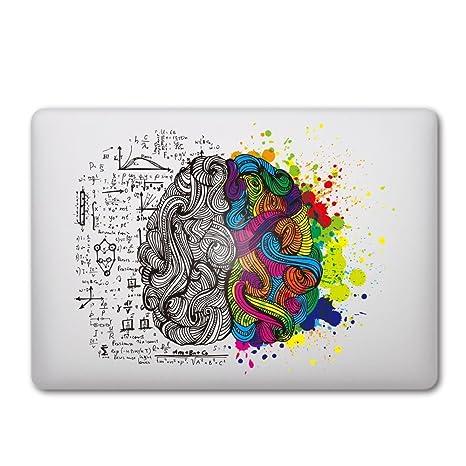 Sticker Adhesivos Macbook, Caroki Nuevo Arte Extraíbles Vinilo Adhesivo Desprendibles Creativo Colorido Art Calcomanía Pegatina