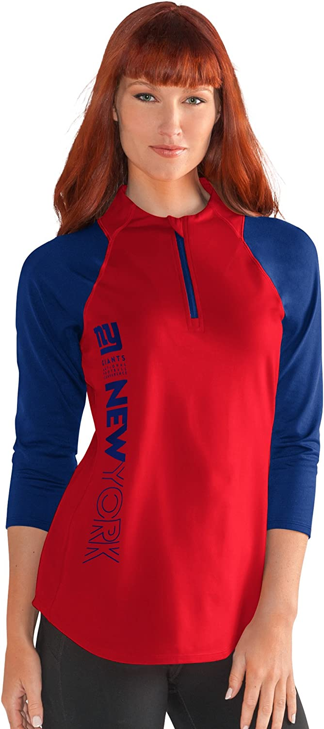 G-III Sports NFL Womens Zip It Up Tee