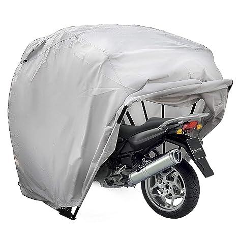 Cueffer Cubierta de Moto de Oxford 600D Funda Impermeable de Motocicleta y Bicicleta Toldo Sólido para