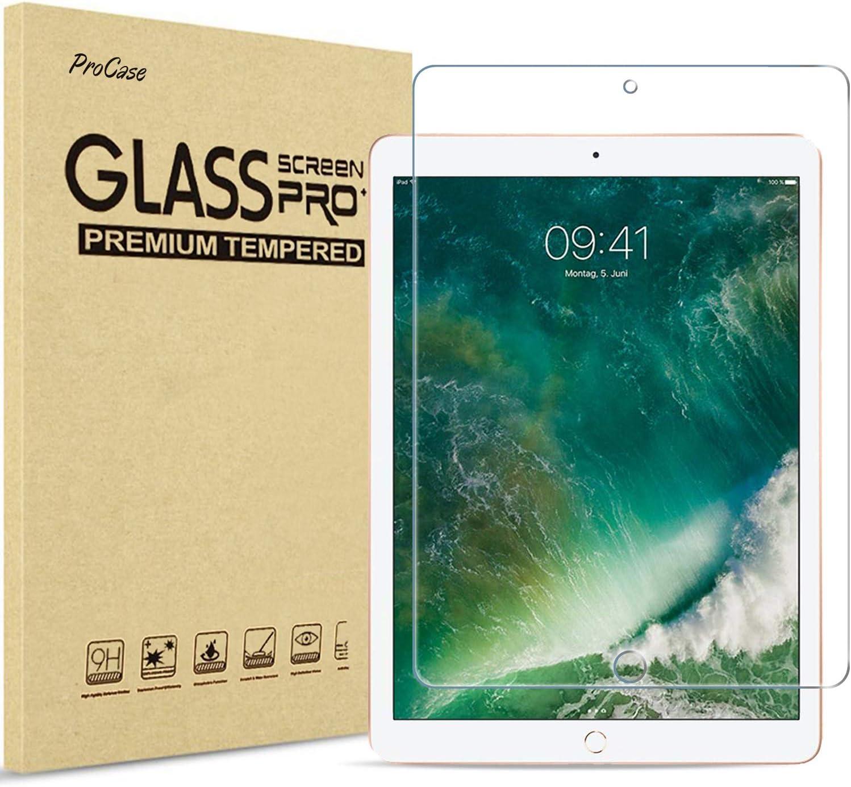 ProCase iPad Pro 12.9 Matte Screen Protector 2015/2017 Old Model, Anti Glare and Anti-Fingerprint Matte Tempered Glass Screen Film Guard for Apple iPad Pro 12.9 inch 1st Gen / 2nd Gen