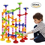 105 pieces Funny Marble Run Building Blocks for Kids Children