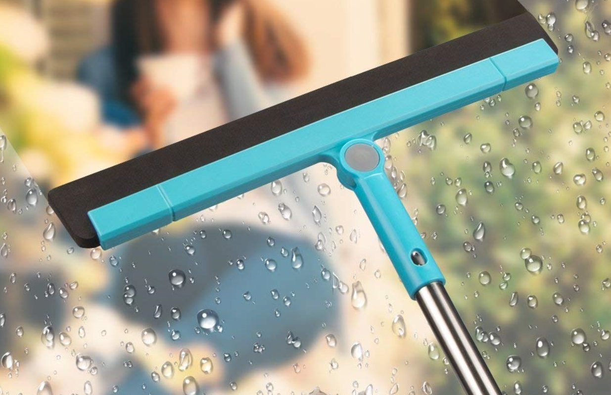 Amazon.com: Floor Squeegee Wiper Window Squeegee Cleaner Blade Water ...