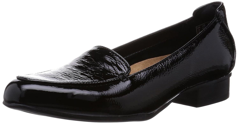 ea03d296048 Clarks Ladies Heeled Shoes Energy Power - Black Patent - UK Size 8D - EU  Size 42  Amazon.co.uk  Shoes   Bags