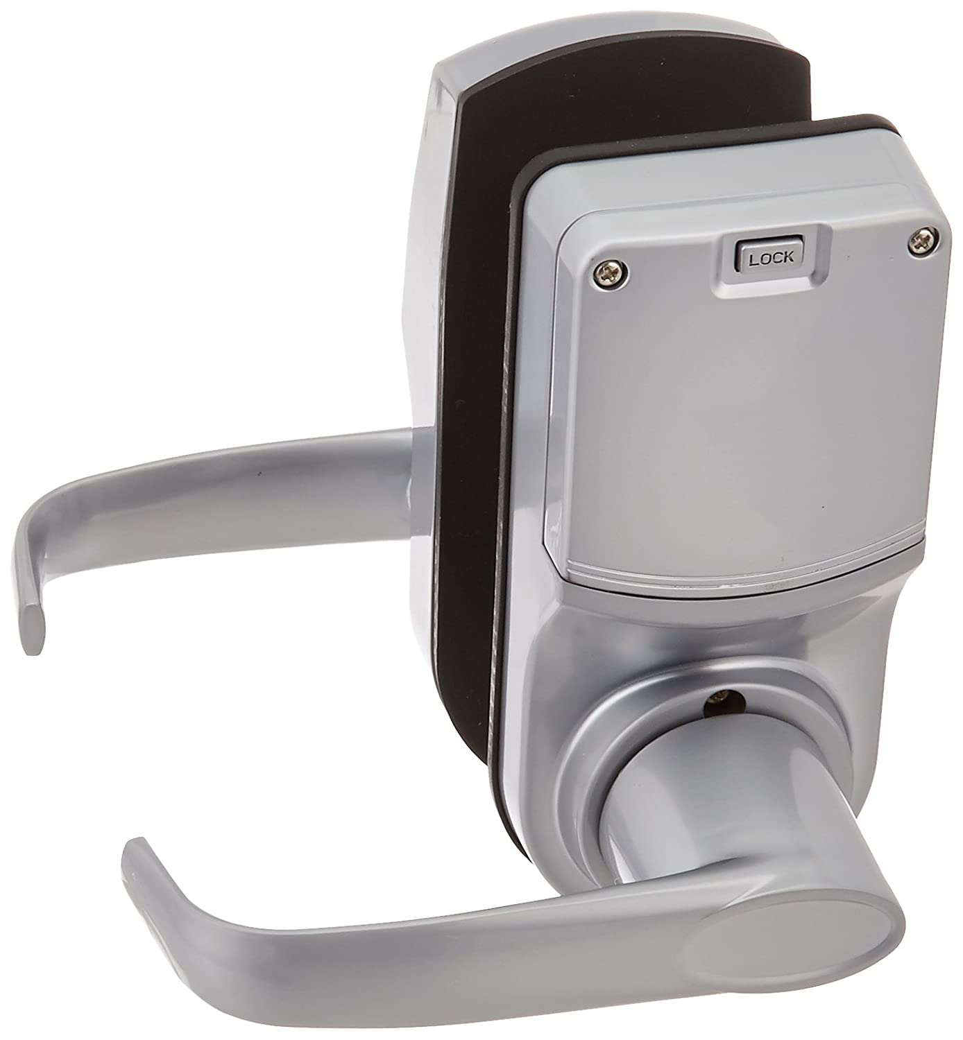 Silver LockState Resort Lock RL4000N-S 4000 Remote Code Door Lock