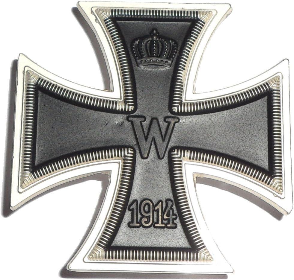 Cruz de Hierro 1 Clase con Aguja - Medalla Alemana Primera Guerra Mundial 1914 / REPRO