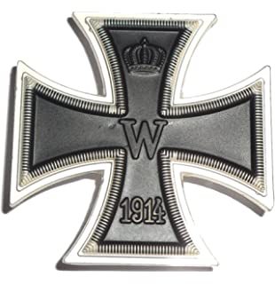 Amazon com: 1939/1957 German Iron Cross (2nd Class) Medal with
