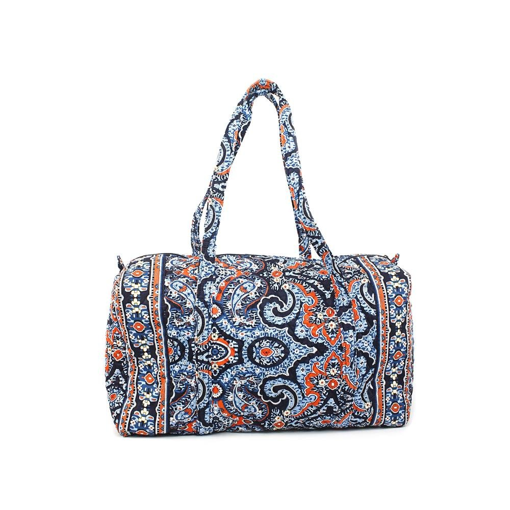 Vera Bradley Luggage Women's Large Duffel Marrakesh Duffel Bag
