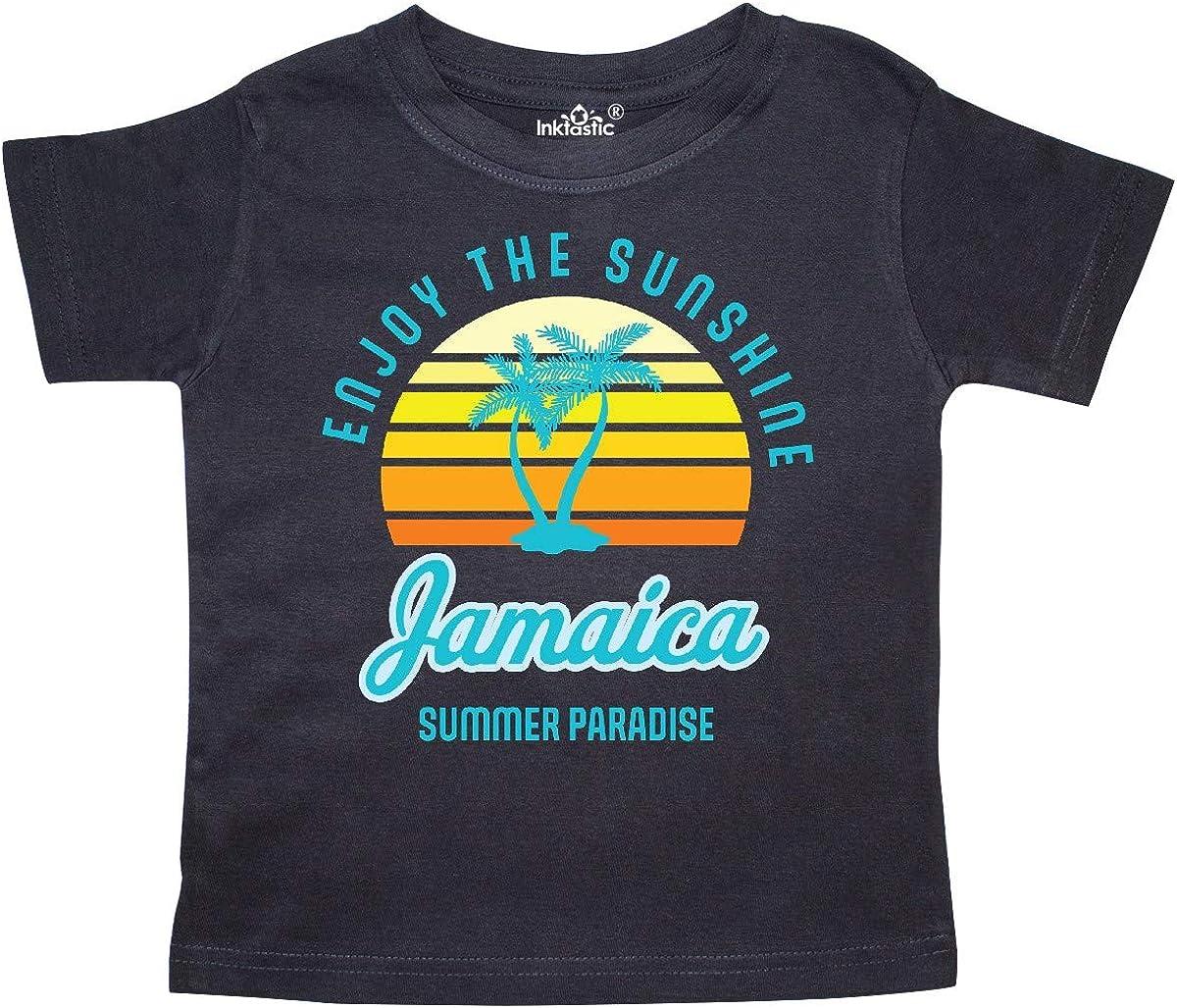 inktastic Enjoy The Sunshine Jamaica Summer Paradise Baby T-Shirt
