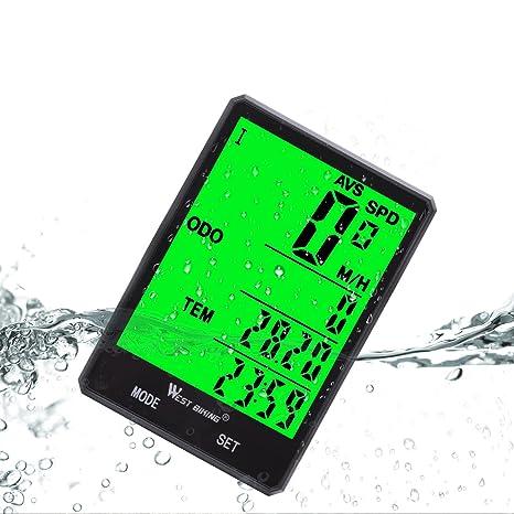 Review Wireless Bicycle Speedometer Waterproof