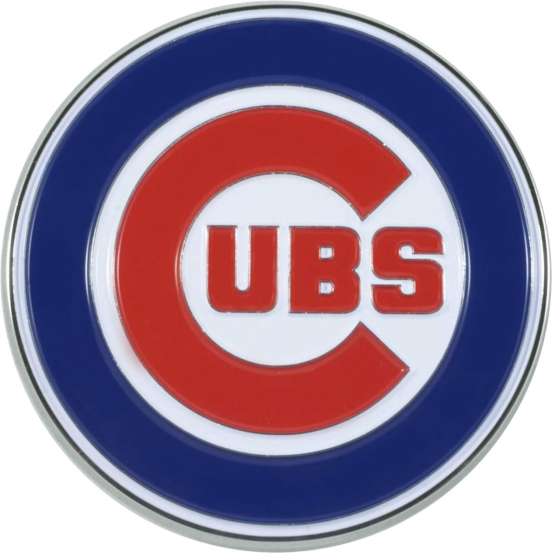 FANMATS 26532 MLB - Chicago Cubs 3D Metal Color Emblem