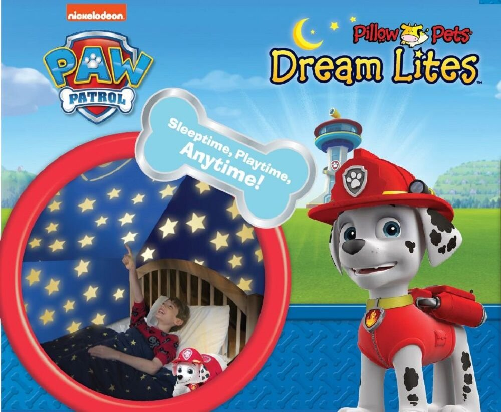 Nickelodeon Paw Patrol Pillow Pets  - Marshall Dream Lites