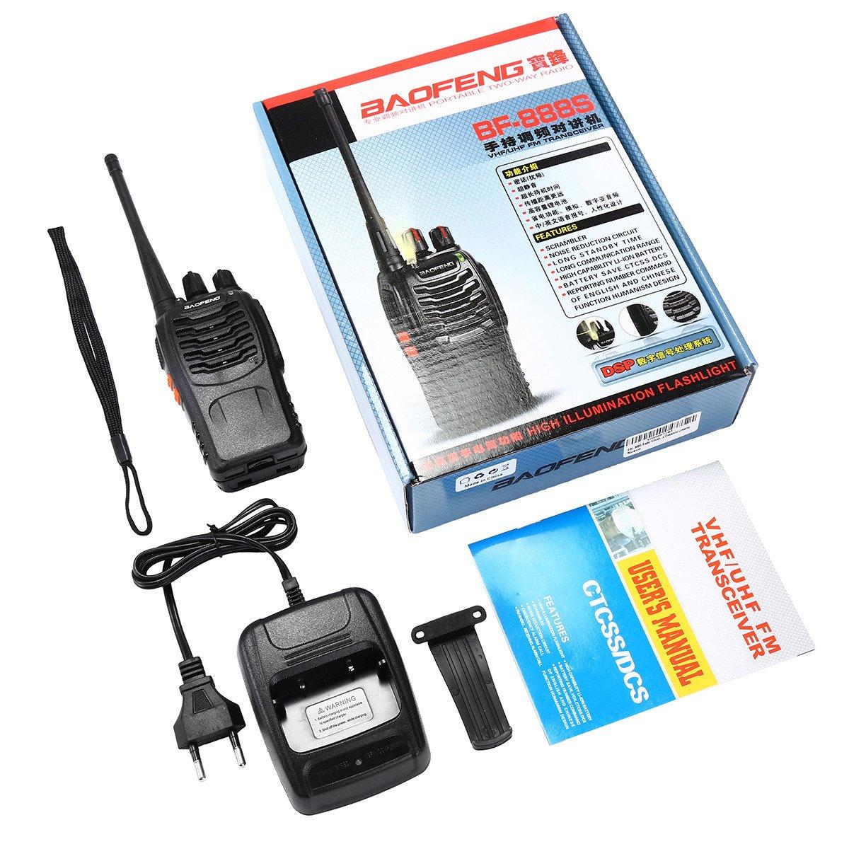 EBL BF-888S 16 Kanäle Wireless Walkie Talkie Funkgeräte