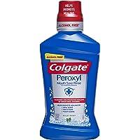 Colgate Peroxyl Mouth Sore Rinse, Mild Mint 16.9 oz