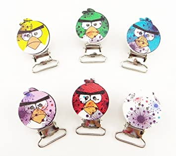 Amazon.com: Venta caliente 2015 lindo Angry Birds chupete ...