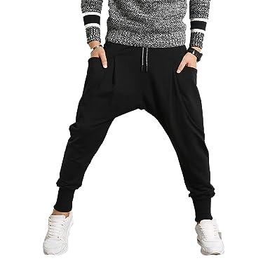 PRIJOUHE - Pantalones de chándal para Hombre - - XXX-Large: Amazon ...