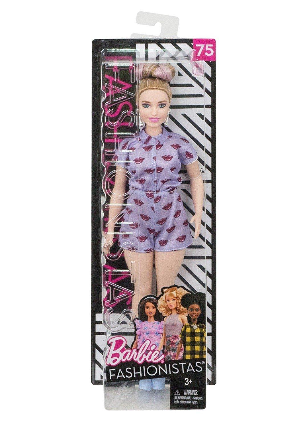 Barbie Fashionistas Baci di Lavanda-Una Curvy Unica da Collezionare, FJF40 Mattel